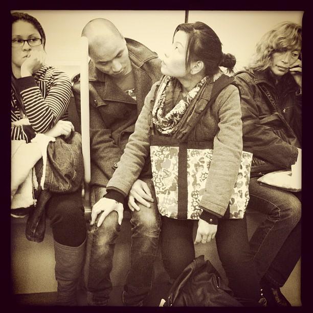 Sientate conmigo by Vicente Jurado igersmadrid, passengers, street,