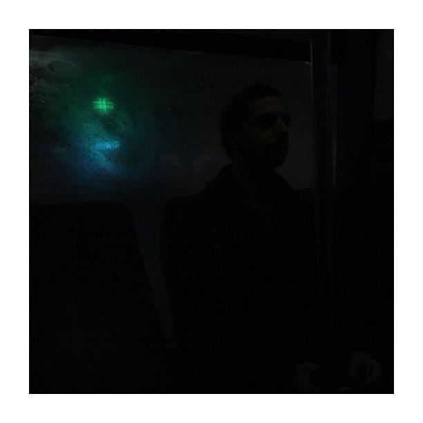 Étoilé / Starry (2/5) by CeCiLe E. bus, candid, instagood, instamood, iphoneonly, paris, passengers, portrait, rain, strangersintransit, streetcolors, streetphotography, streetphoto_color,