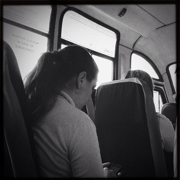 Camionetica  by Alejandro Aristeguieta passengers,