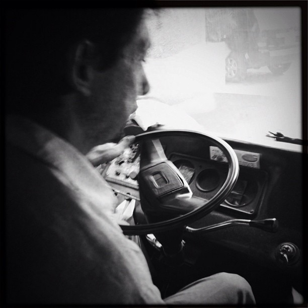 Chofer  by Alejandro Aristeguieta passengers,
