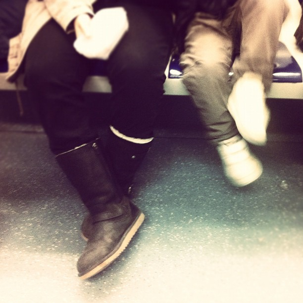 4 legs by sergi meseguer barcelona, iphone, metro, passengers, subway,