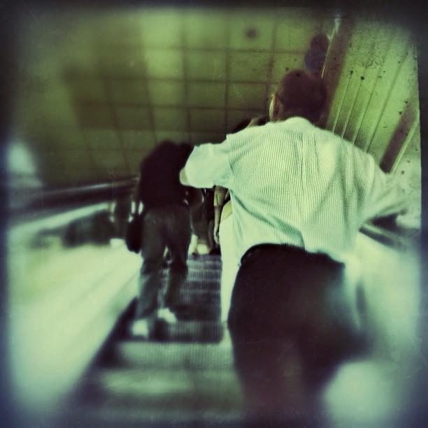 Up stairs by Omitsu Issey                            by Omitsu Issey eyephoneography, fotografiandolavida, igersbarcelona, igersbcn, igerscatalonia, igerslondon, igersmania, igersnyc, instagood, instagrameando, iphone, iphoneography, iphonesia, myworldshared, passengers, photography, photooftheday, statigram, streetphotography, themobilephoto, ubiquography, webstagram,