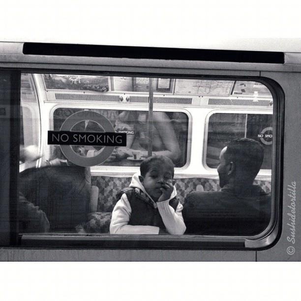 Londoners (III) by Carolina de Britos fotodeldia, passengers, photooftheday, sushiblackandwhite, sushidetortilla, sushiinlondon, sushistreet,