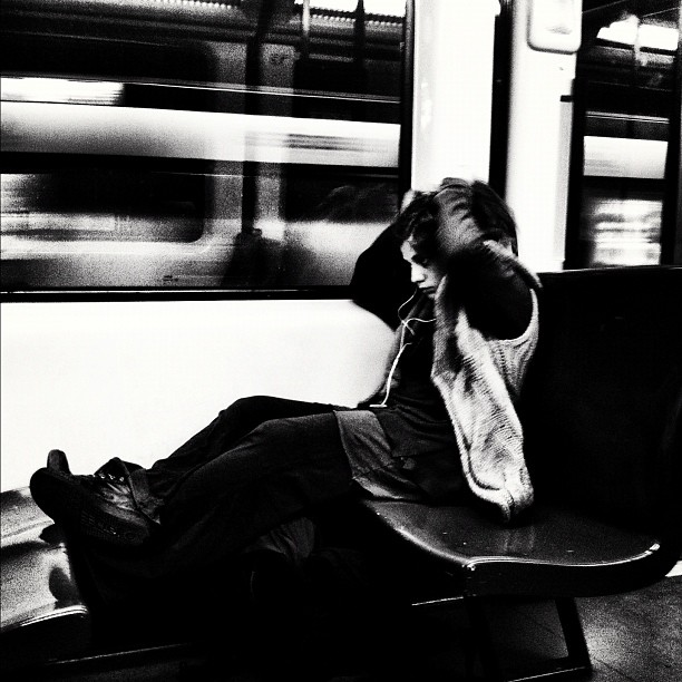 Untitled by Javier Matín barcelona, igers, igersbcn, iphoneography, iphonesia, passengers, streetphotography, ubiquography,