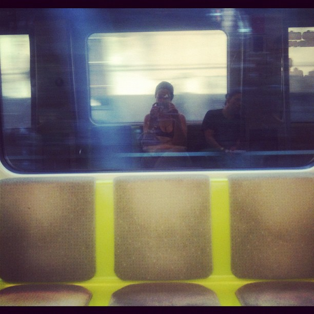 Reflecting  by Esther Navalón Wamba passengers,