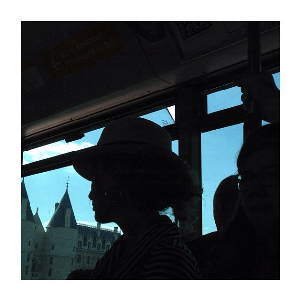 Palais de justice / Courthouse by CeCiLe E. bus, candid, courthouse, instagood, instamood, iphoneonly, nofilter, paris, passengers, portrait, raw_materials, strangersintransit, streetcolors, streetphotography, streetphoto_color,