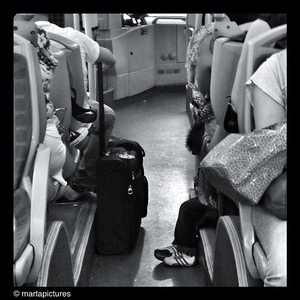 Asiento infantil                              by Marta Vall bestoftheday, blackandwhite, bnw, bnw_society, bw, bwoftheday, bw_lover, bw_stylesgf, freaksbcn, igdaily, igers, igersbcn, instaaddict, instadaily, instagood, instagrammers, instamood, iphonegraphy, iphoneonly, iphonesia, monochrome, passengers, photooftheday, sis4, statigram, streetphoto_bw, transport, ubiquography, webstagram,