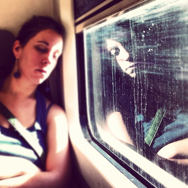 Reflected       by Joan Torrens igersbcn, igerscatalonia, passengers, tallerdefotos, trainsleeper, ubiquography,