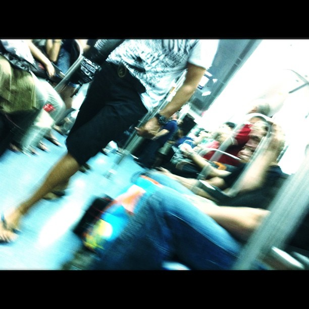 Metro Barcelona   by Lluis Gerard iphoneography, passengers, rightnow,