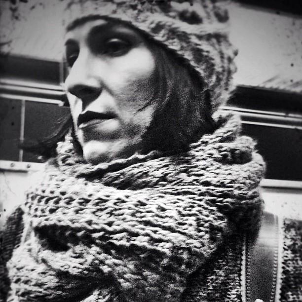 It's cold outside by Vicente Jurado igersmadrid, passengers, simplybnw, stillretro, street,