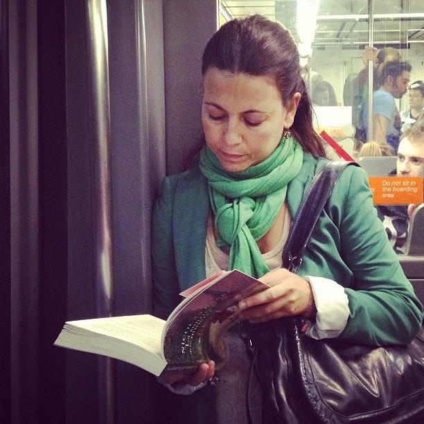 Reader by Fran Simó passengers, w, womenarebeautiful,