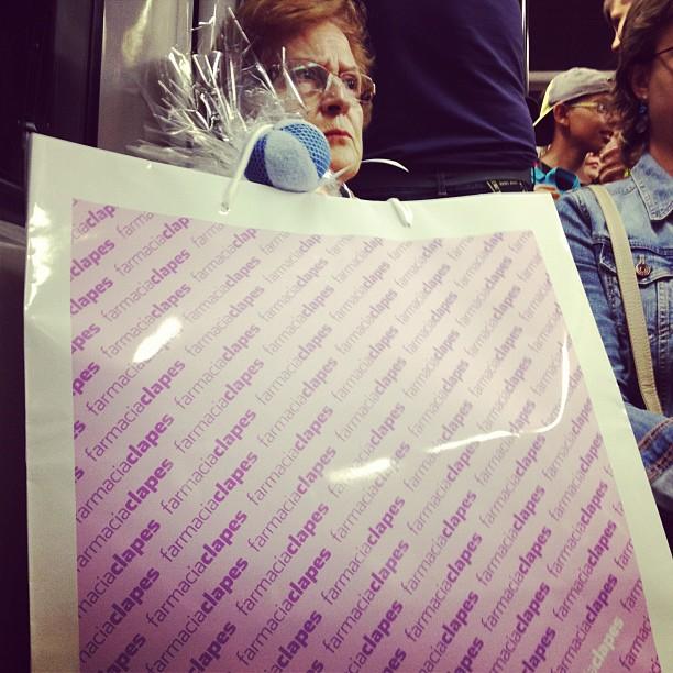 by olga balibrea barcelona, iphoneography, laseñoradelabolsa, metro, olgabalibrea, passengers, ubiquography,