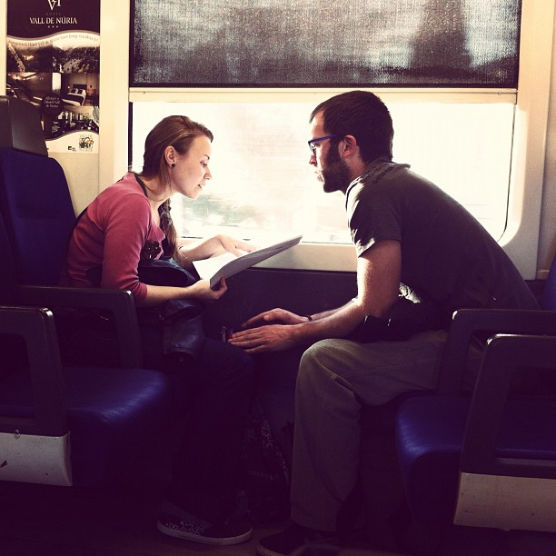 Travelling together    by Joan Torrens igersbcn, passengers, ubiquography,
