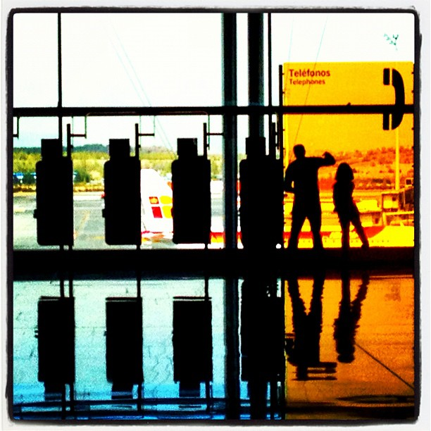Untitled by Ignasi Clapers airport, mad, passengers, t4, ubiquography,