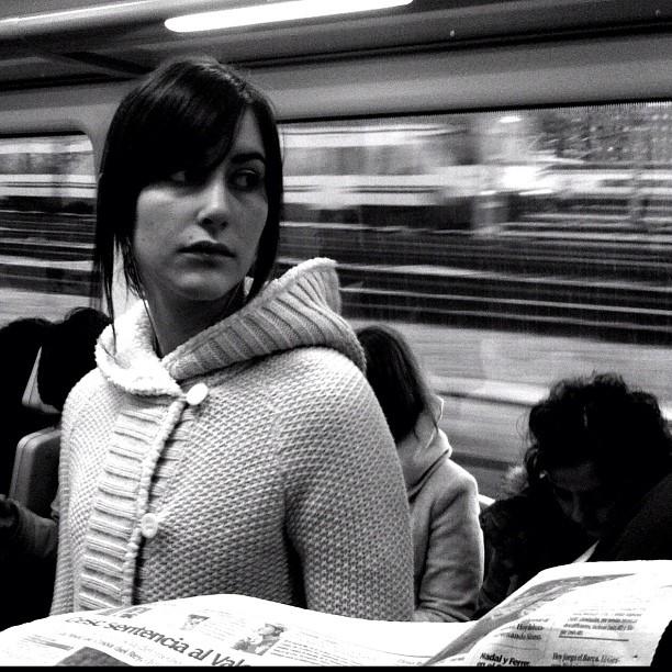 Look back by Vicente Jurado igersmadrid, passengers, procamera, street,
