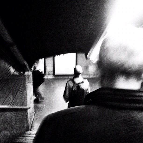 Untitled by Javier Matín barcelona, igers, igersbcn, iphoneography, iphonesia, passengers, street, streetphotography, ubiquography,