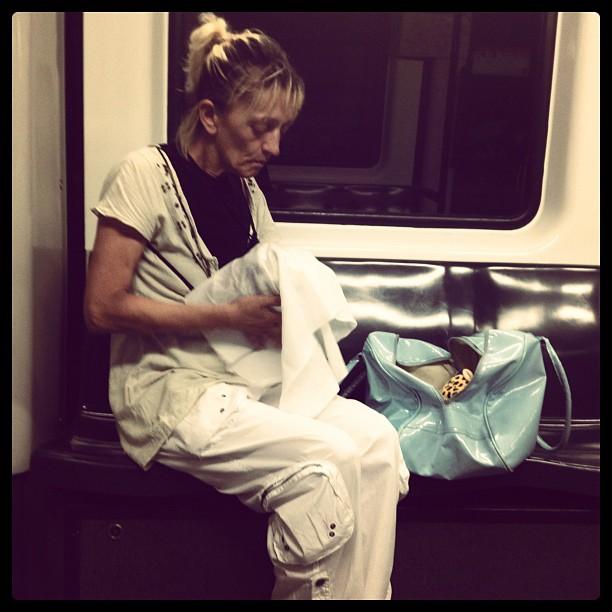 Untitled by Rodrigo Gómez bcn, metro, passengers,