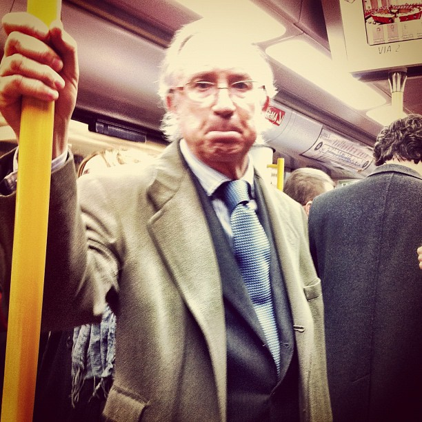 Nada que decir    by Vicente Jurado igersmadrid, iphone, passengers, street,