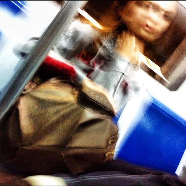 blurry   by Lluis Gerard barcelona, passengers,