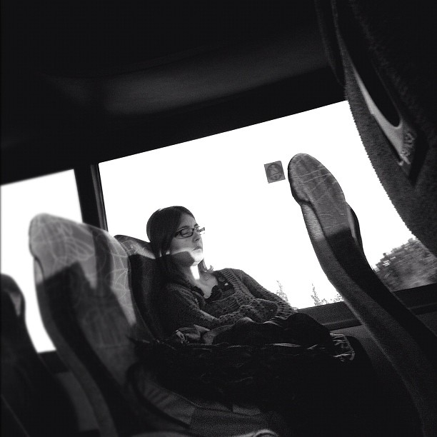 Bus       by Lluis Gerard barcelona, bus, candid, iphone4camera, maresme, passengers, ubiquography,