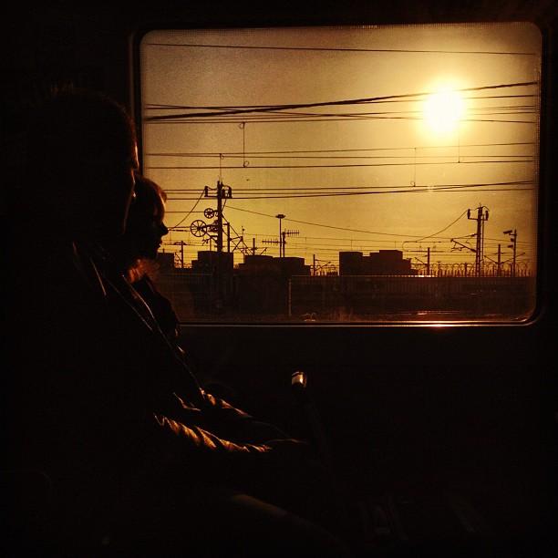 Untitled by Rodrigo Gómez morning, passengers, sun, ubiquography,