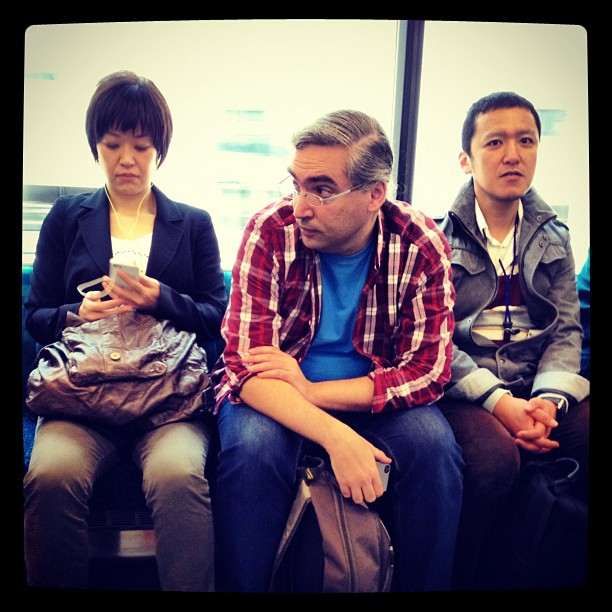 @fransimo and  at  by Fon Simó passengers, tokyo, ubiquography,