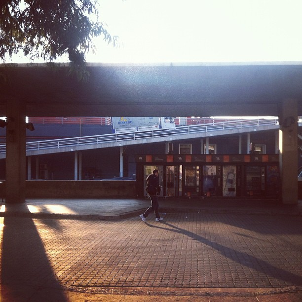 station by sergi meseguer barcelona, iphone, passengers, shadow, street,