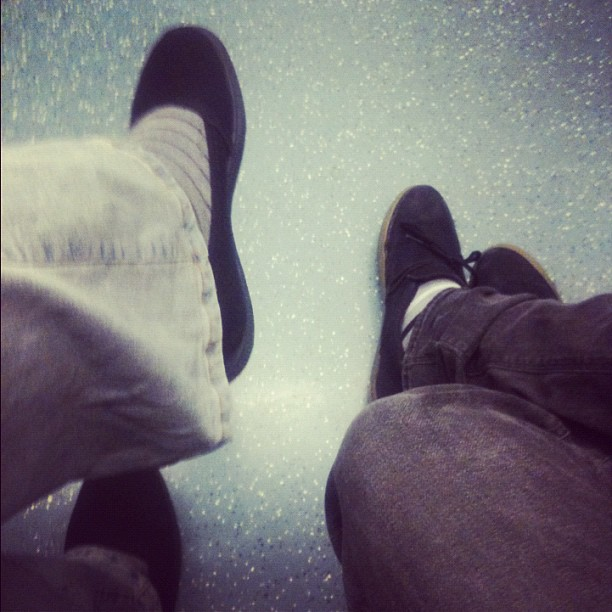 Black shoes  by Esther Navalón Wamba passengers,