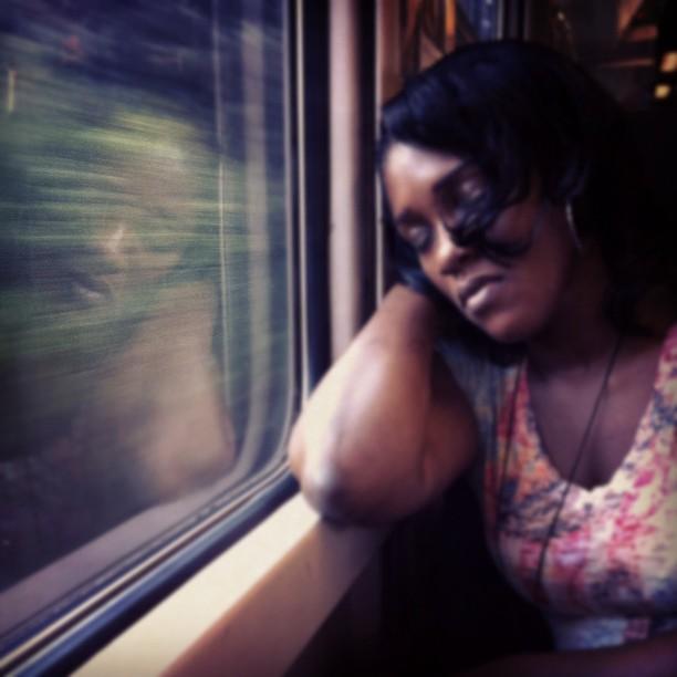 Reflected       by Joan Torrens dormintaltren, igersbcn, igerscatalonia, passengers, tallerdefotos, trainsleeper,