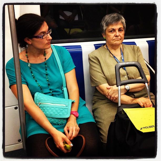 Verde 1  by Fon Simó combinaciones, igers, igersbarcelona, igersbcn, passengers,