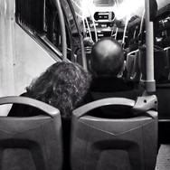 Untitled by Benjamín Julve bcn, blackandwhite, bw, igers, iphonesia, monochrome, passengers, photooftheday, statigram, transport, ubiquography, webstagram,