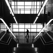 Up & DOWN                  by Benjamín Julve bcn, blackandwhite, bw, igers, iphonesia, monochrome, passengers, photooftheday, statigram, street, streetphotography, transport, ubiquography, webstagram,