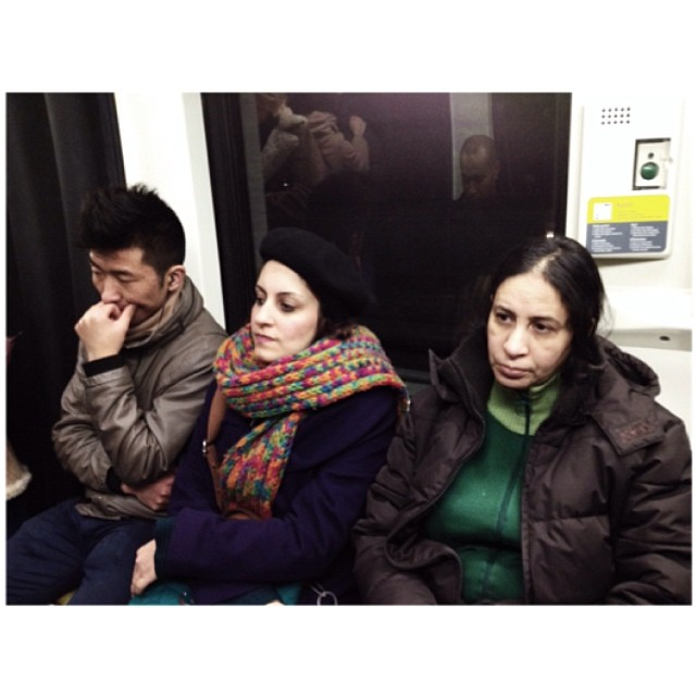 Untitled by jader_one barcelona, city, metro, passengers, spain, streetphotography, subway,
