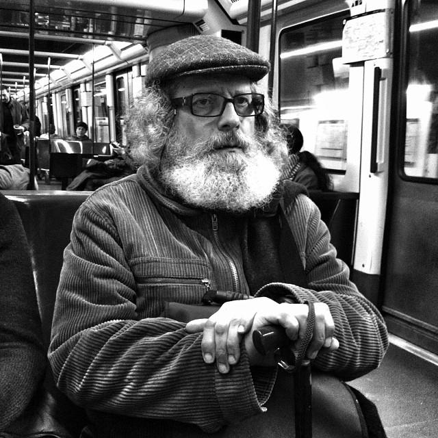 Untitled by Benjamín Julve bcn, blackandwhite, bw, igers, iphonesia, monochrome, passengers, photooftheday, statigram, street, streetphotography, transport, ubiquography, webstagram,