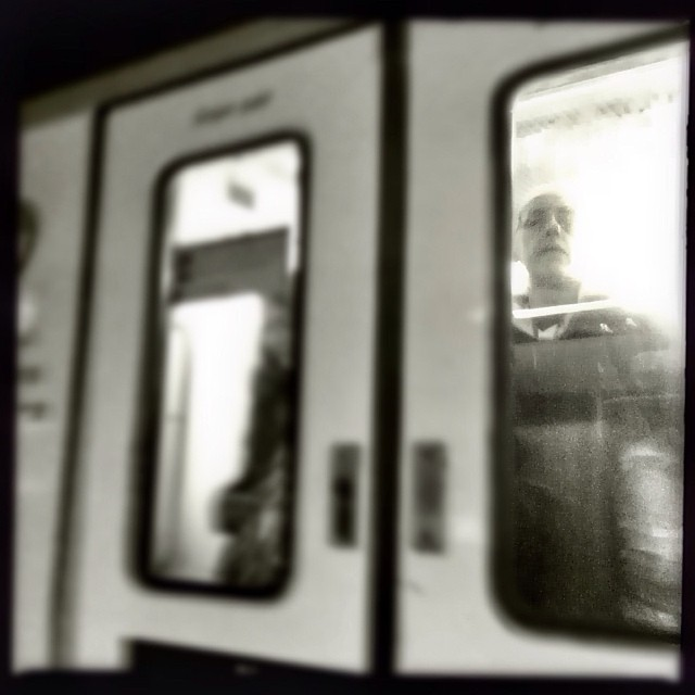 Apparition by Godo Chillida apparition, barcelona, blackandwhite, cenasdometro, monochrome, passengers, shootermag, streetbw, streetphoto, streetphotography, subway, subwaypeople, ubiquography,