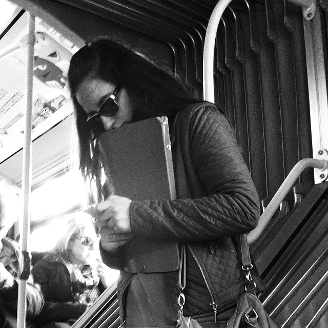 Untitled by Benjamín Julve bcn, blackandwhite, bw, igers, iphonesia, monochrome, passengers, photooftheday, statigram, street, streetphotography, transport, ubiquography, webstagram,