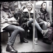 Happy commuters by Godo Chillida blackandwhite, cenasdometro, commuters, france, happy, monochrome, paris, passengers, streetphoto, streetphotography, ubiquography,