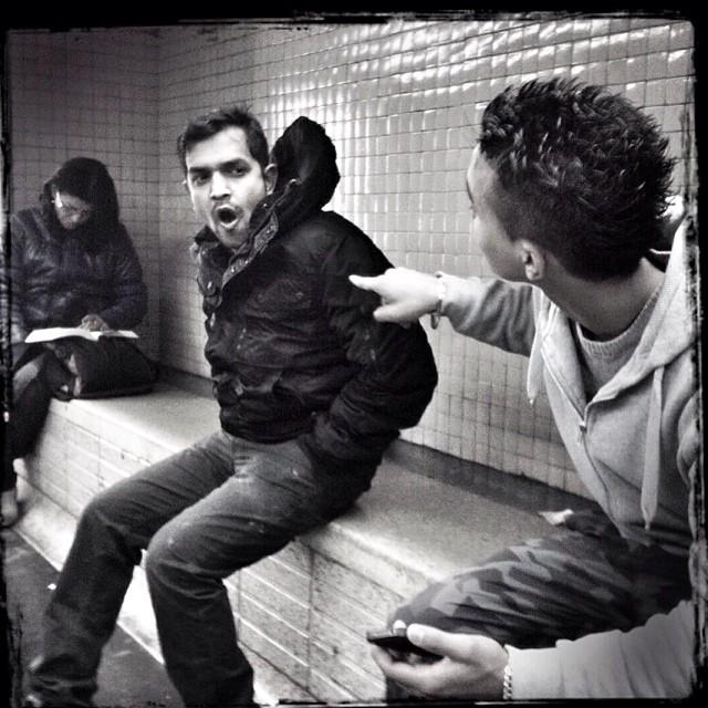 Lax & Tense by Godo Chillida barcelona, blackandwhite, cenasdometro, monochrome, passengers, streetbw, streetphoto, streetphotography, subway, subwaypeople, ubiquography,