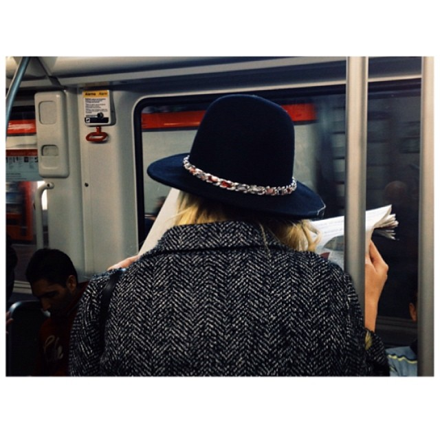 Untitled by jader_one back, coat, fashion, girl, hat, igers, instabarcelona, instagood, instaspain, metro, panama, passengers, photo, photographer, photooftheday, picoftheday, reading, streetphotography, woman,