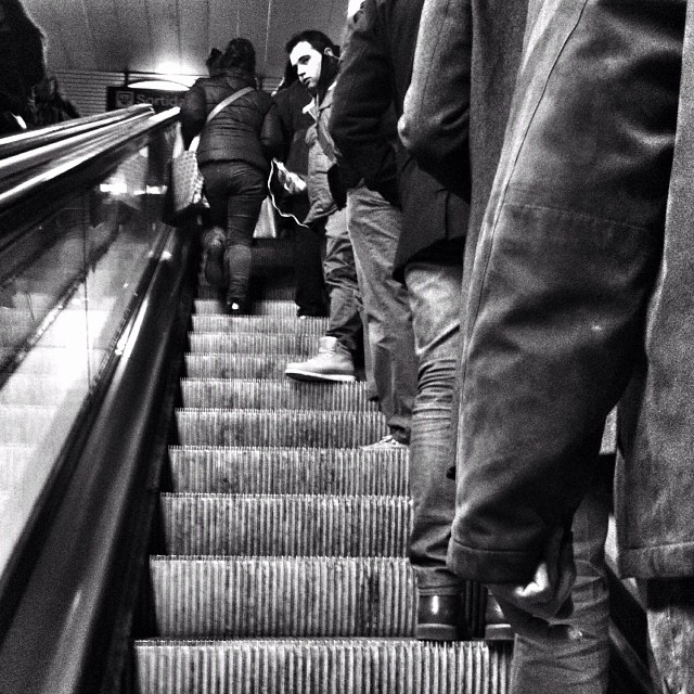 Untitled by Benjamín Julve bcn, blackandwhite, bnw_shots, bw, igers, iphonesia, monochrome, passengers, photooftheday, statigram, street, streetphotography, transport, ubiquography, webstagram,