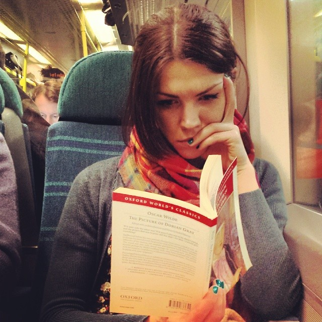 Oscar Wilde - The Picture of a Commuter.  by hove9 passengers,