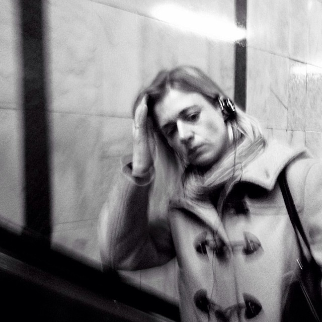 Concerned about being ruled by a government that blames people and save the bankers by Godo Chillida blackandwhite, bws_worldwide, government, monochrome, passengers, resignation, streetbw, streetphoto, streetphotography, subwaystation,