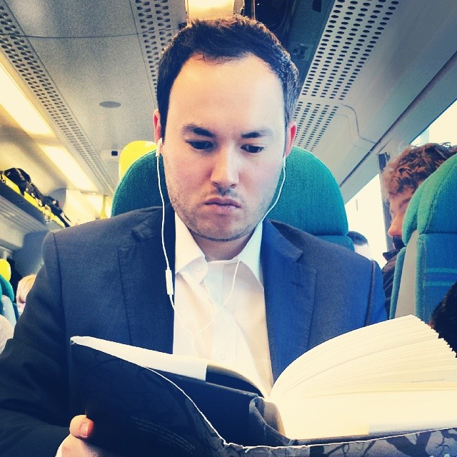 Heavy reading.  by hove9 passengers,