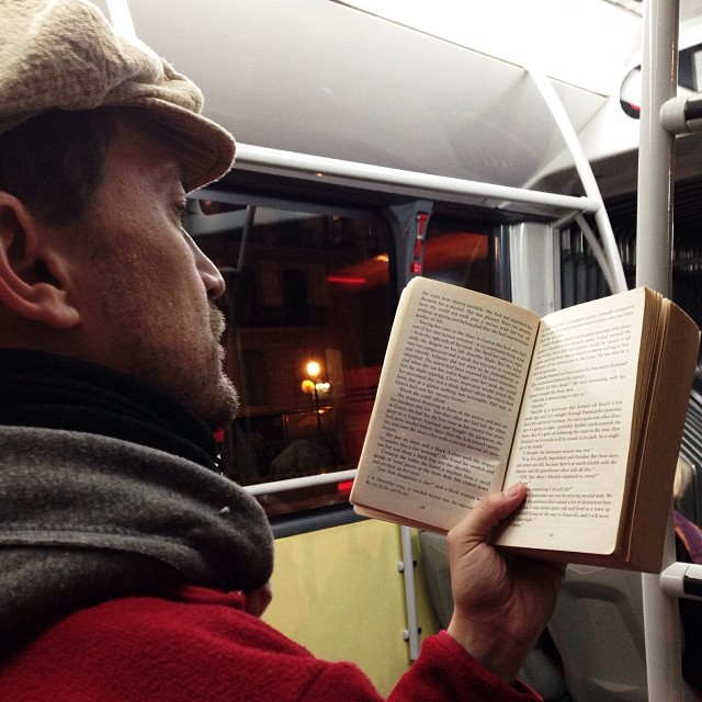 Open book  by Paula Jarrin passengers,