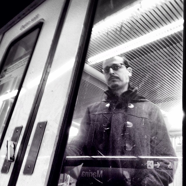 When a government decides to adopt the policy of the fallacy people have to break through the glass doors of direct action to reclaim responsibilities (II) by Godo Chillida barcelona, blackandwhite, bws_worldwide, government, monochrome, passengers, resignation, streetbw, streetphoto, streetphotography, subwaypeople, subwaystation, ubiquography,