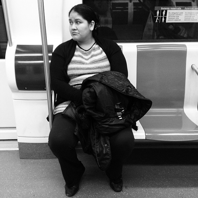 Sadness and lonelyness  by Paula Jarrin passengers,