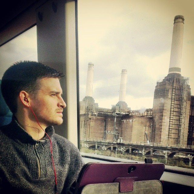 Sitting tall and proud    by southcoasting batterseapowerstation, passengers, peopleonpublictransport,
