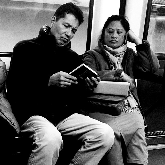 El libro by miguel sánchez passengers, streetphotography, streetphotography_bw,