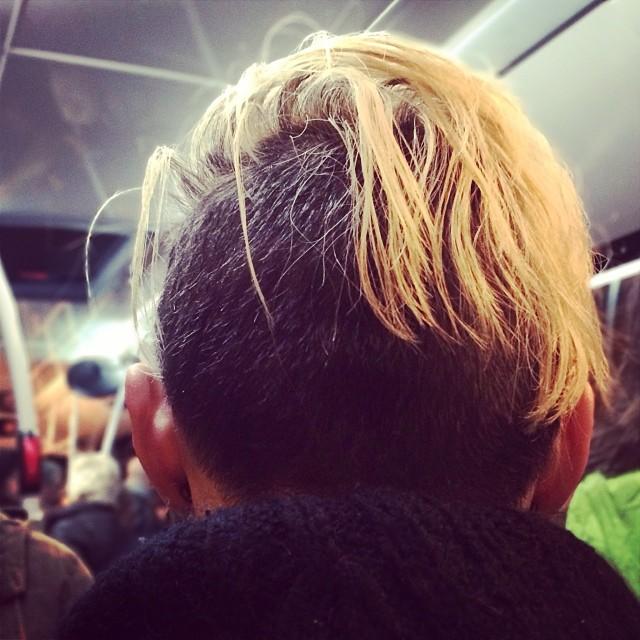 Hair  by Fran Simó passengers,