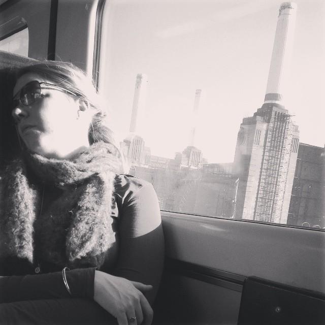 A little shuteye as a whole world passes by     by southcoasting batterseapowerstation, passengers, shuteye, traingame,